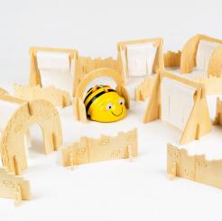 Bee-Bot / Blue-Bot Curs de obstacole din lemn