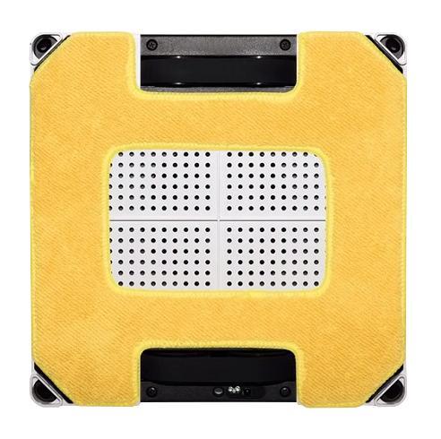 Lavete din microfibră pentru curățare umedă și lustruire pentru Hobot 268/288/298 - Galben