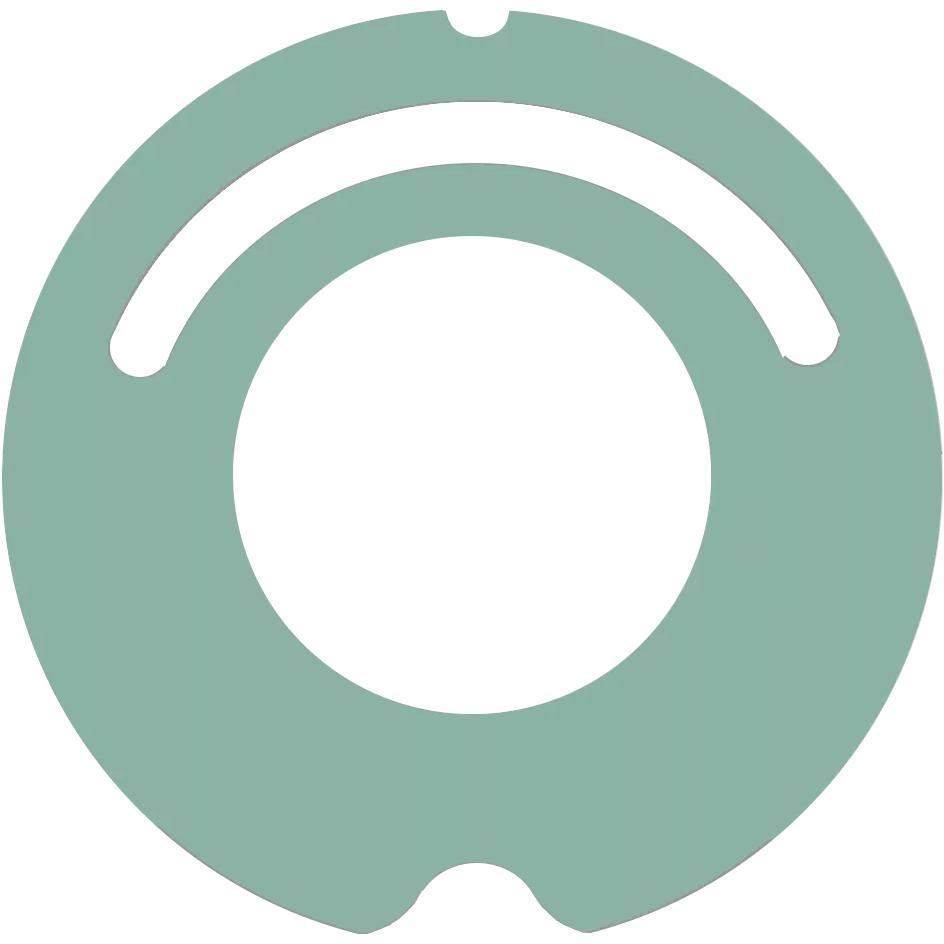 iRobot Roomba faceplate pentru seria 500/600 - verde