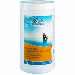 Tablete de clor Chemoform solubile lent - 1 kg