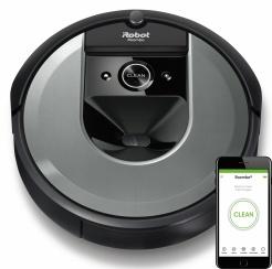 iRobot Roomba i7+ silver WiFi