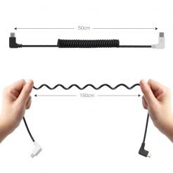 Cablu interconecare microUSB pentru DJI Goggles / DJI Spark