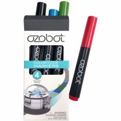 Set de markere colorate pentru Ozobot - 4 buc