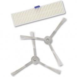 Set filtru și perii laterale pentru Rowenta seira 60