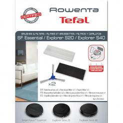 Set filtre și perii laterale pentru Rowenta seria 40