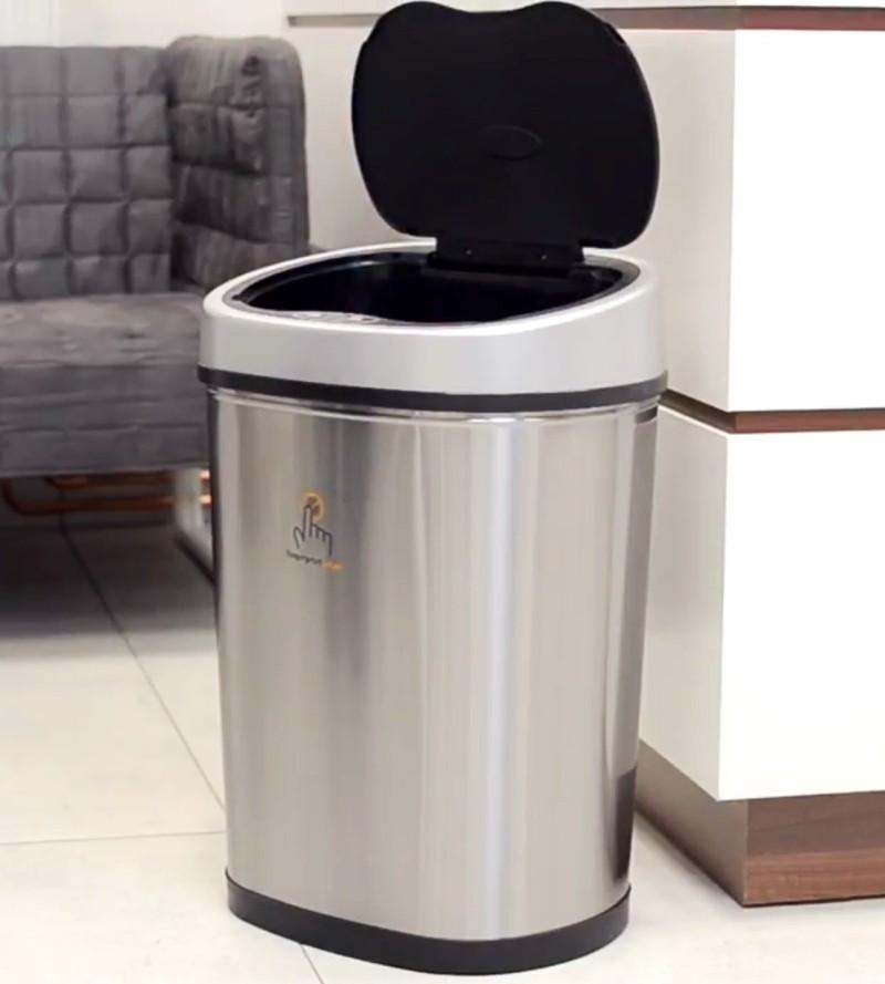 Prezentarea coșului de gunoi Helpmation Oval