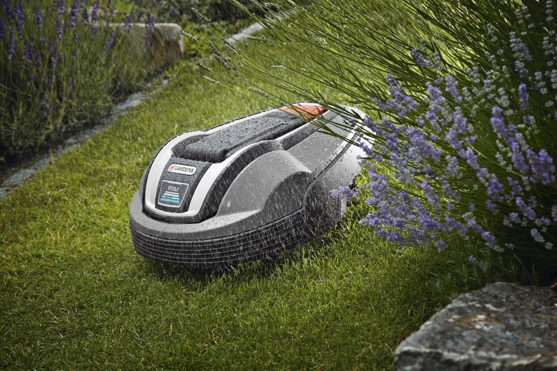 Gardena lucrează și pe ploaie