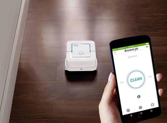 Aplicatia pentru mobil iRobot Home