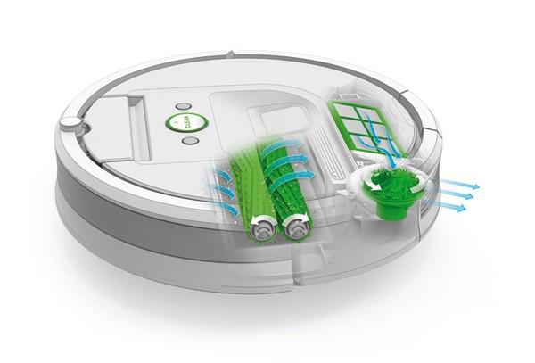 Sistem AeroForce de curățare pe trei niveluri