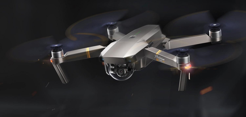 Prezentarea dronei DJI Mavic Pro Platinum