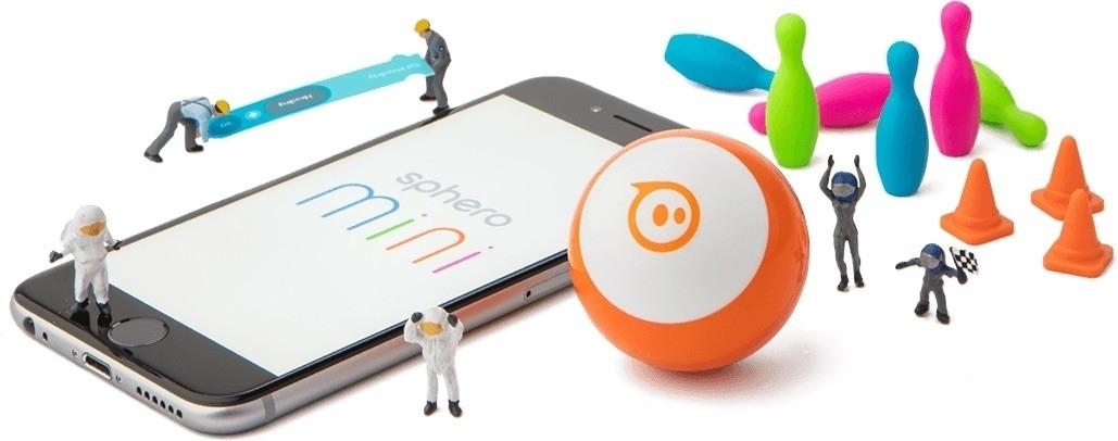 Prezentarea sferei robotice Sphero Mini