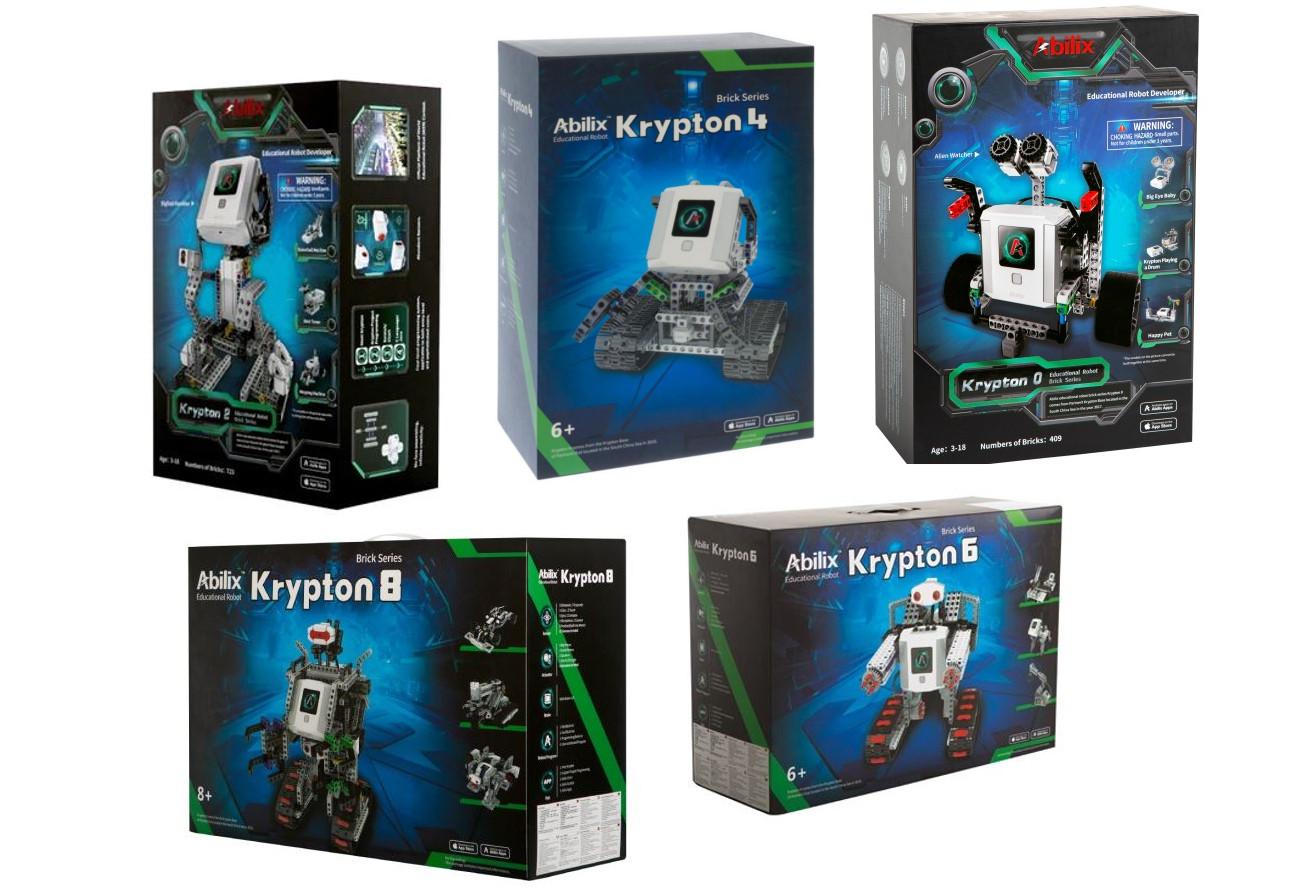 Kit de construcție Abilix Krypton