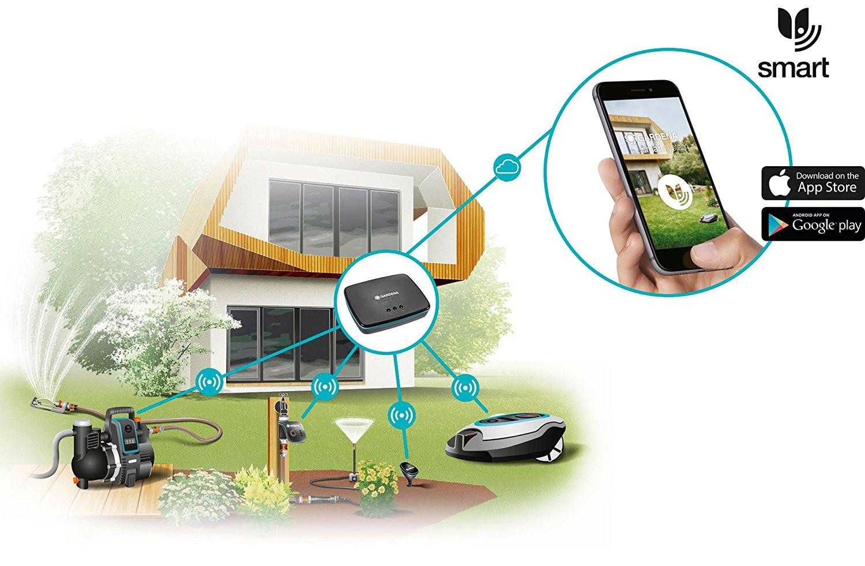 Gardena Gateway pentru conectare la un sistem inteligent