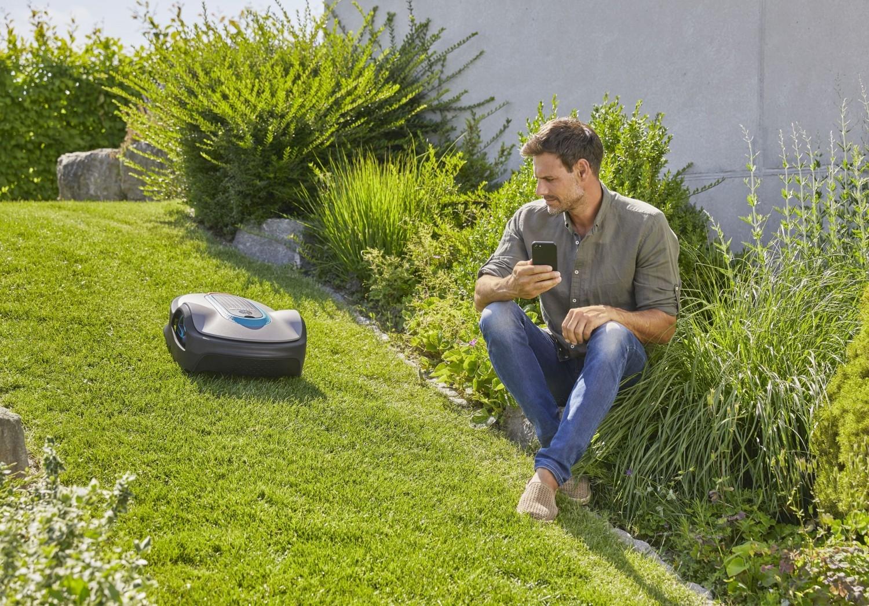 Controlează Gardena cu ajutorul telefonului