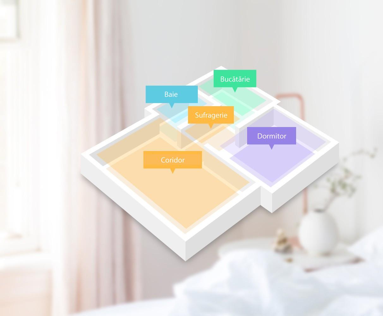 Cartografiere inteligentă a camerei