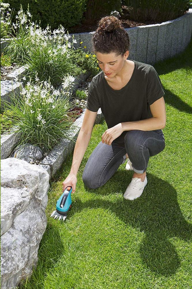 Prezentare Aku foarfecă pentru iarbă Gardena ClassicCut