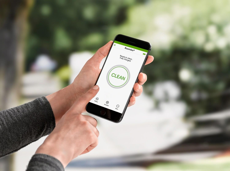 Aplicaţia pentru smartphone iRobot HOME
