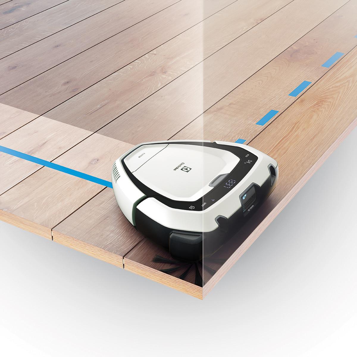 Curățarea precisă datorită formei triunghiulare Trinity și tehnologiilor PowerBrush, FlowMotion