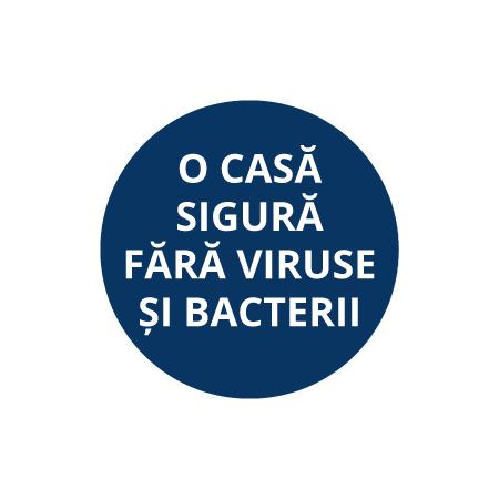 Te va scăpa de virusuri și bacterii