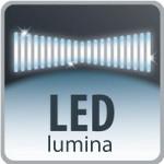 Duză cu iluminare LED