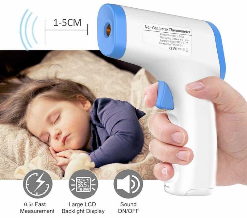 Termometru fără contact LZ600