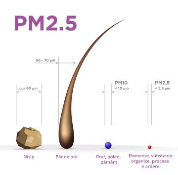 Ce este PM2.5?