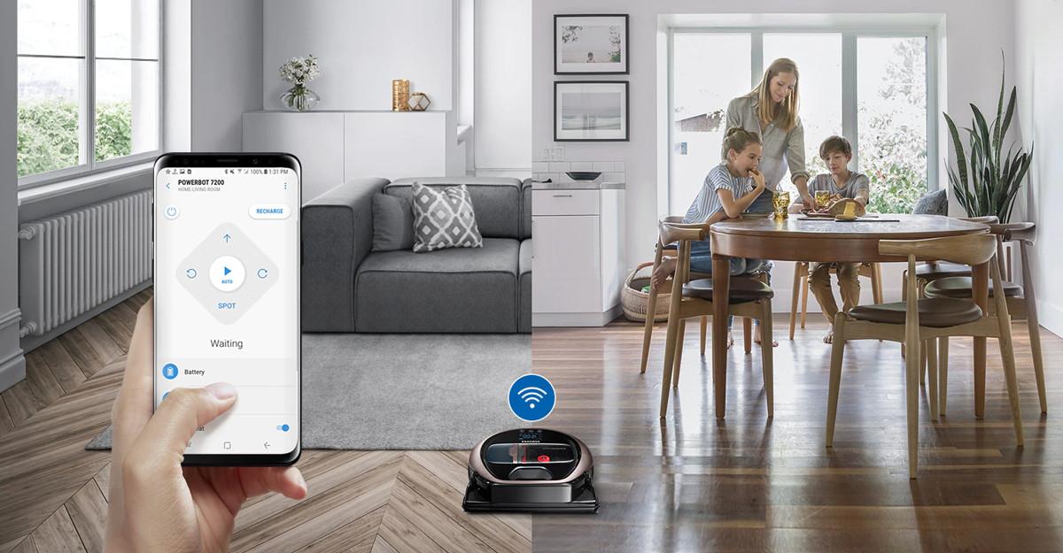 Conectivitate Wi-Fi și compatibilitate cu SmartThings