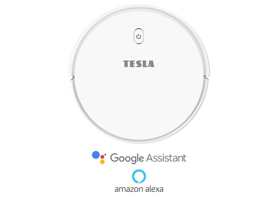 Curățare inteligentă cu suportul Google Assistant/Amazon Alexa