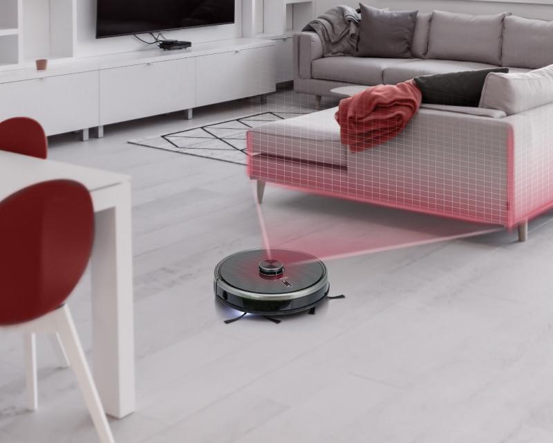Vă prezentăm aspiratorul robot Concept VR3210 3în1