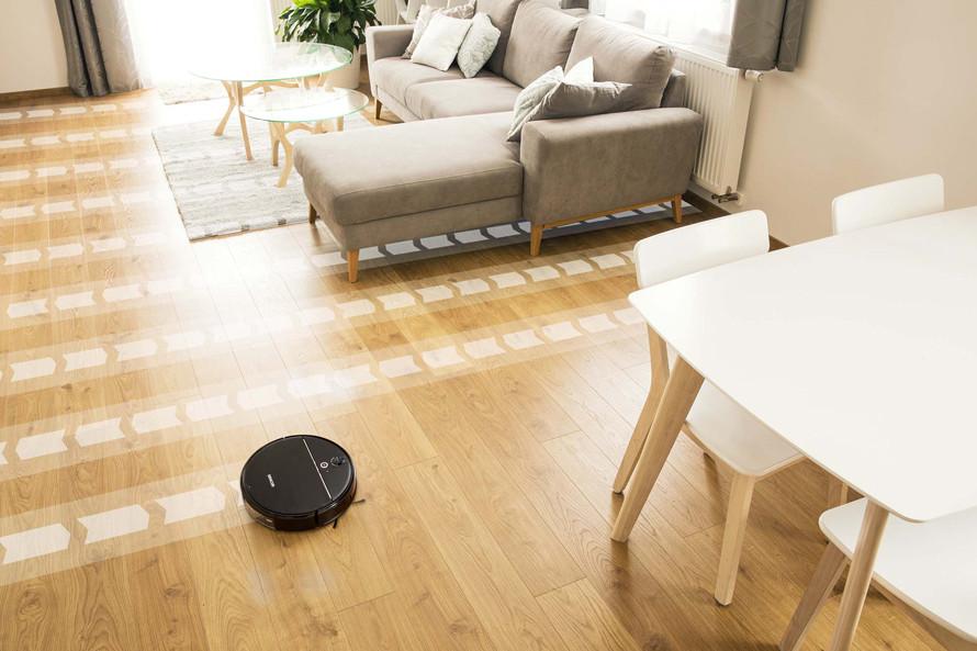 Cu navigarea giroscopică, mapează zona pentru o curățare eficientă