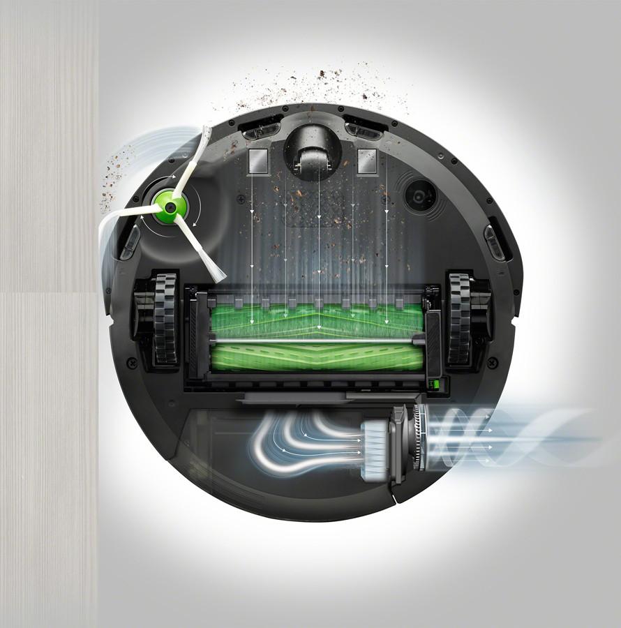 Sistem premium de curățare în trei etape AeroForce