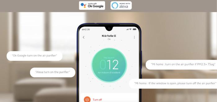Control prin aplicație mobilă