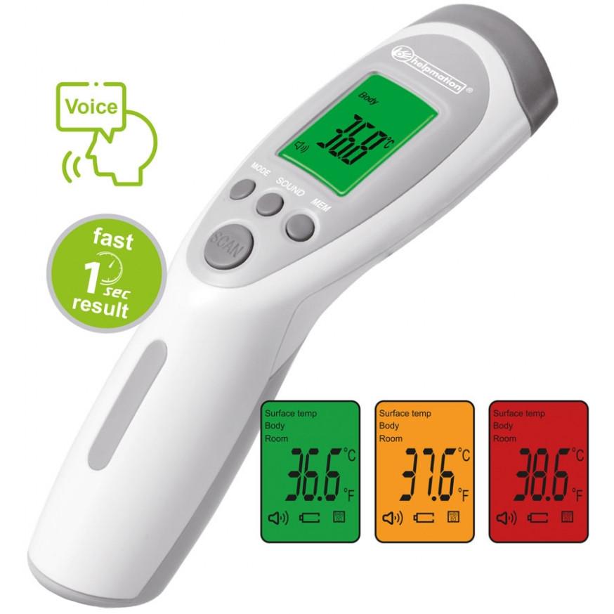 Schimbă culorile în funcție de temperatura măsurată