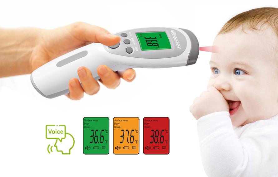 Cum funcționează termometrul fără contact Helpmation