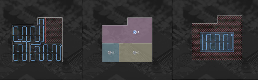 Editarea hărții de curățare în aplicația mobilă
