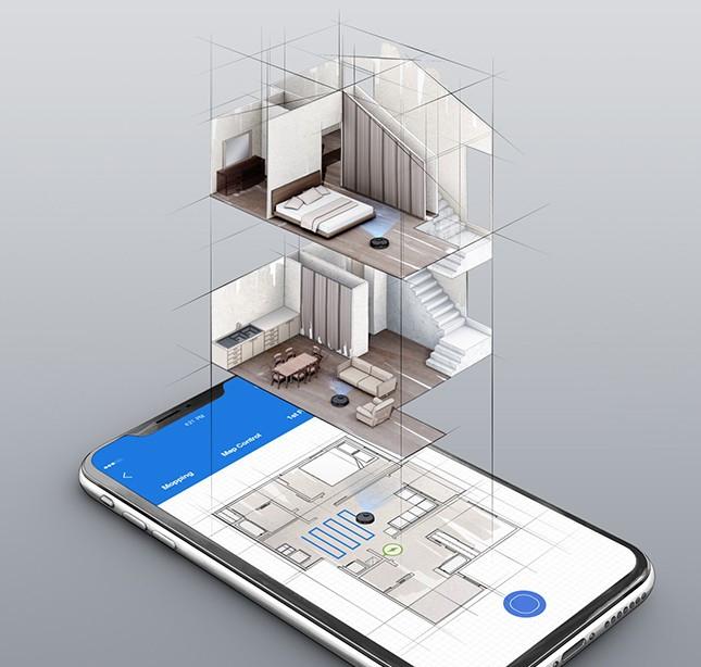 Capacitatea de cartografiere pe mai multe etaje