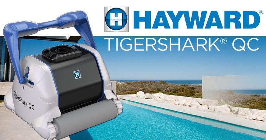 Prezentarea aspiratorului de piscină Hayward TigerShark QC